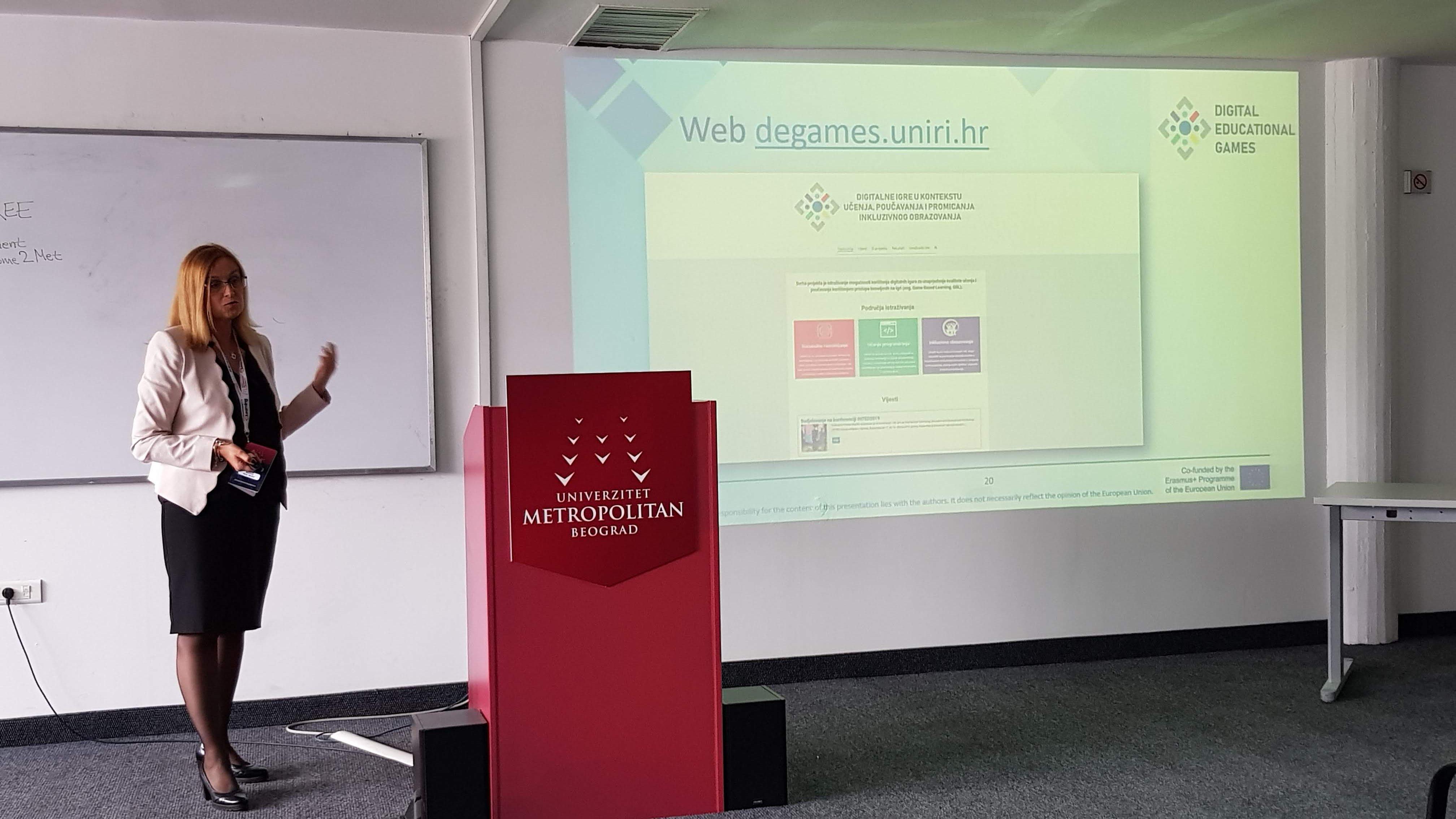 Prezentacija projekta na eLearning 2019 konferenciji