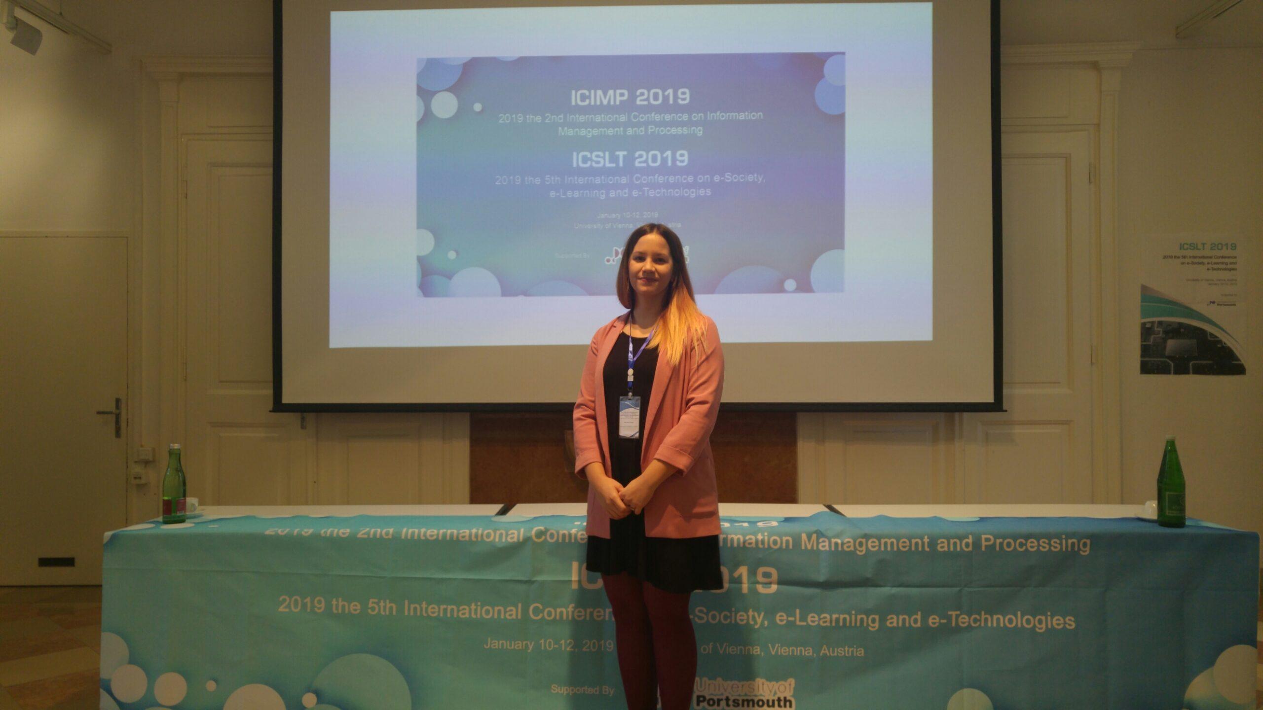 Sudjelovanje na konferenciji ICSLT