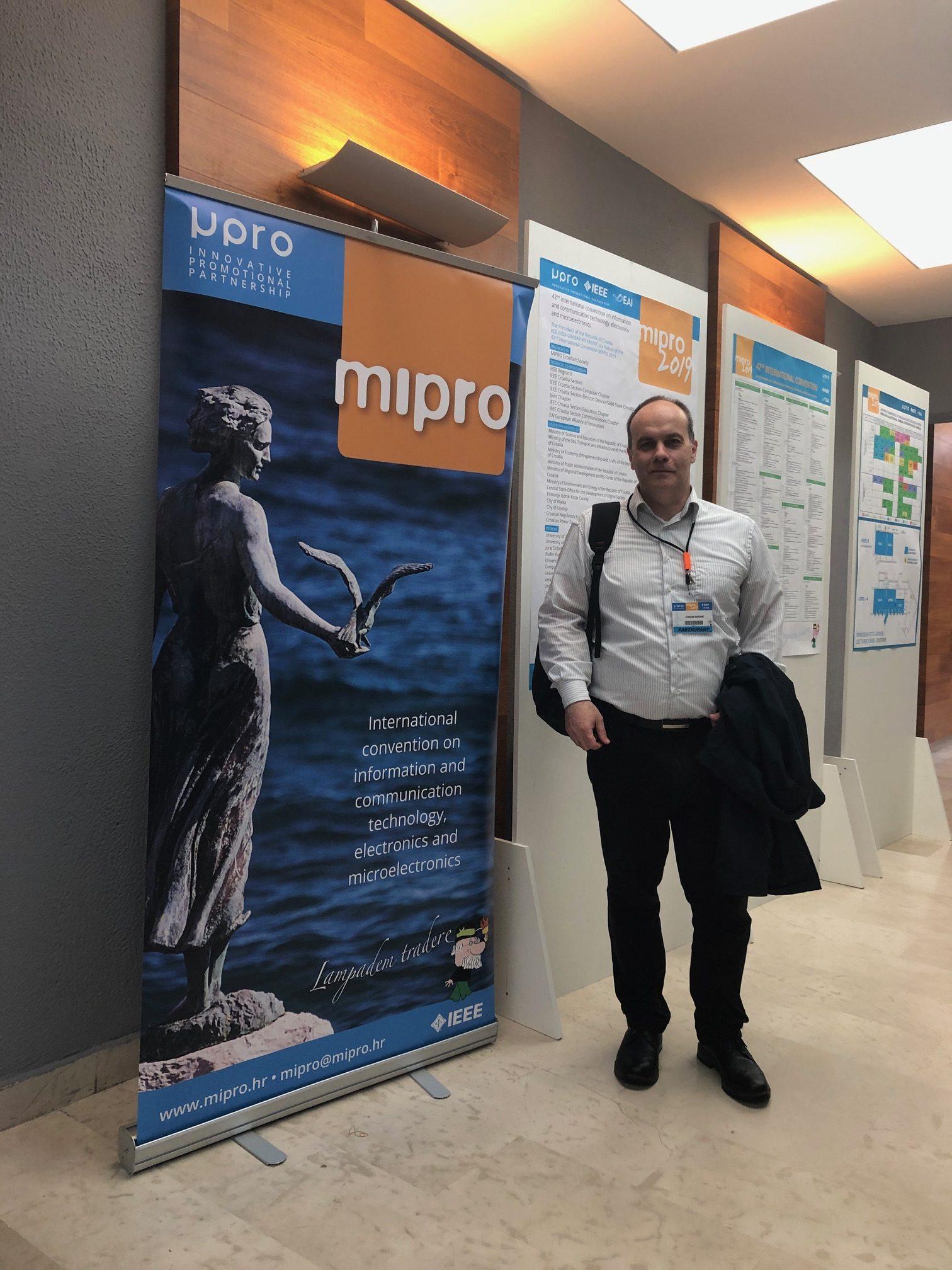 Prezentacija rezultata istraživanja na konferenciji MIPRO 2019