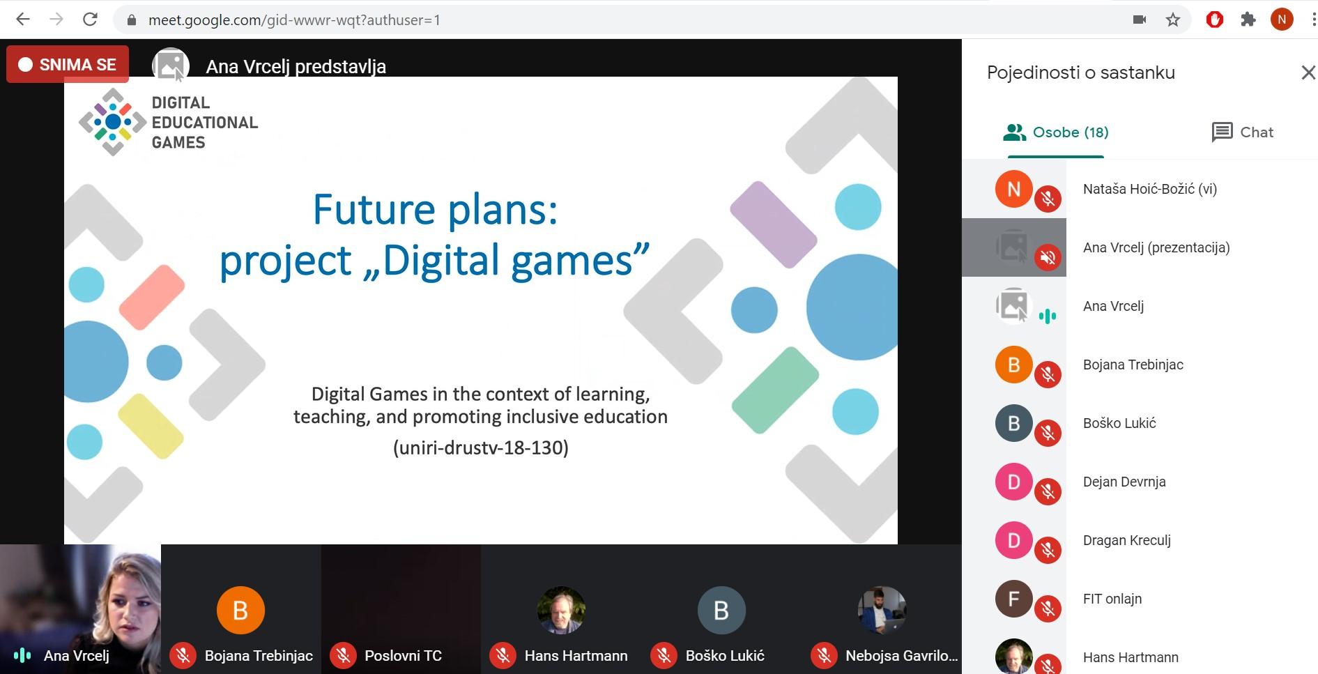Sudjelovanje na konferenciji e-Learning 2020